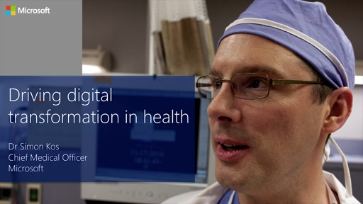 Microsoft Driving Digital Transformation in Health Event Keynote