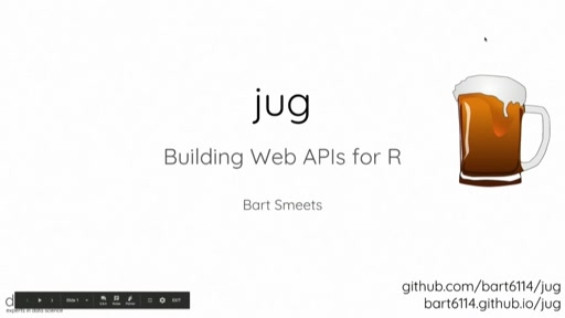 jug: Building Web APIs for R
