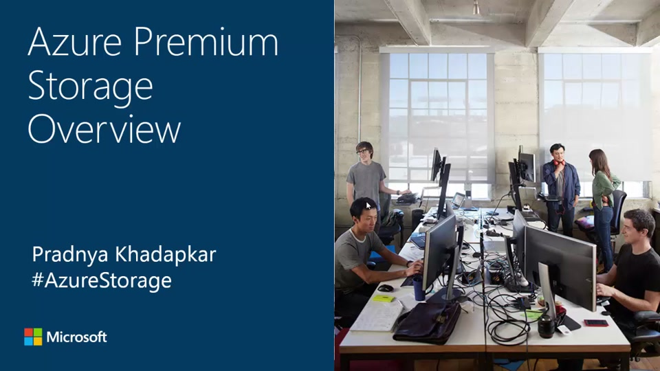 Azure Premium Storage 5 Minute Overview