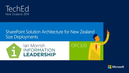 SharePoint Solution Architecture for New Zealand Size Deployments