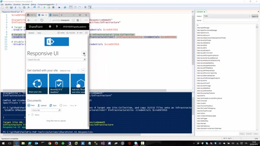 SharePoint Responsive UI Package for on-premises (SP 2013 and SP 2016)