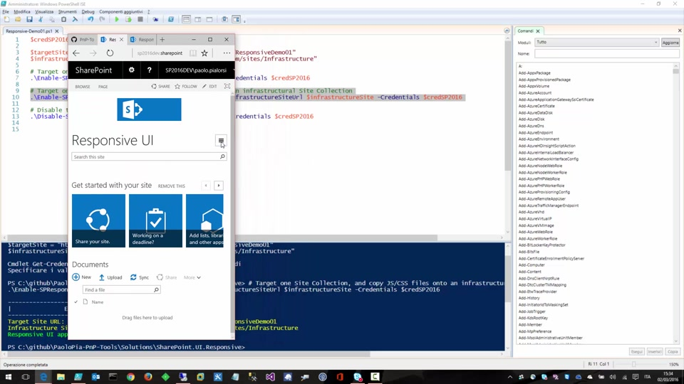 SharePoint Responsive UI Package for on-premises (SP 2013 and SP ...