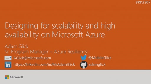 Design for scalability and high availability on Microsoft Azure