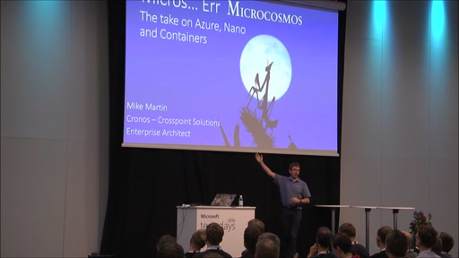 Micros...Err Microcosmos: The Take on Azure, Nano and Containers