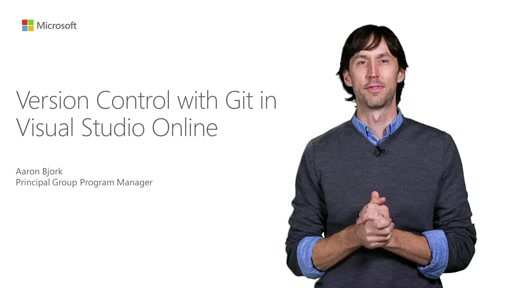 Version Control With Git In Visual Studio Online