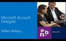 Microsoft Account Delegate Feature