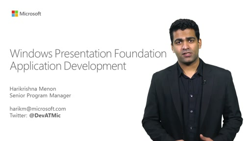 Windows Presentation Foundation Application Development