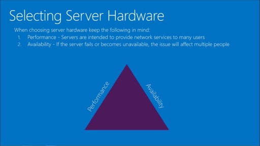 Windows Server Administration Fundamentals: (01) Server Overview