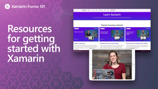 Xamarin.Forms 101: Resources for getting started with Xamarin