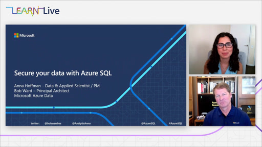 Azure SQL Fundamentals - Episode 3 - Secure your data with Azure SQL