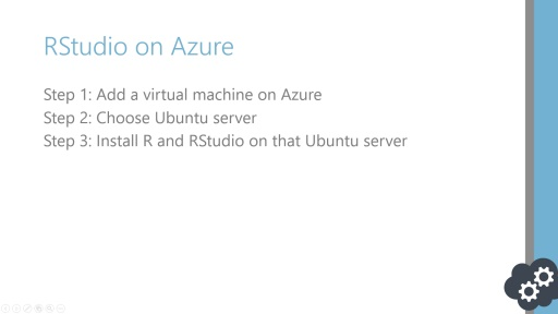 Data Science Series: Standing up RStudio Server on Azure