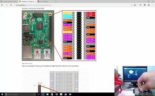 Intro to Development and Deploying Applications to Windows IoT Core on Raspberry Pi 2