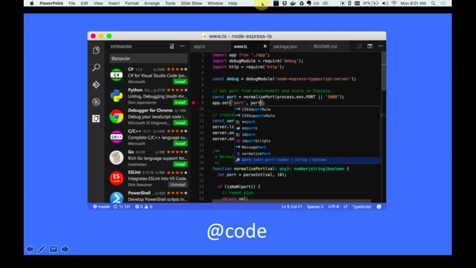 VS Code the last editor you'll ever need | Wade Anderson - Microsoft