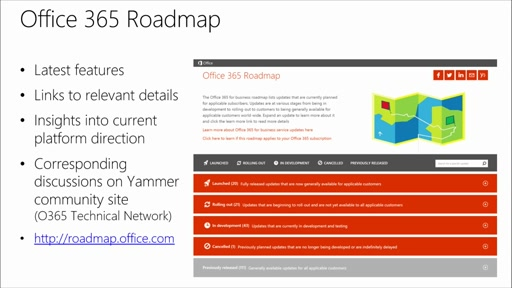 Yammer Administration and Power User Best Practices: (08) Future Planning