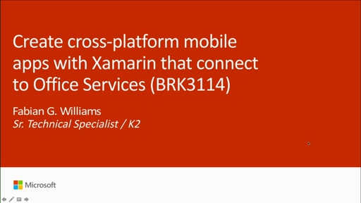 Create cross-platform mobile apps with Xamarin that connect to Office Services