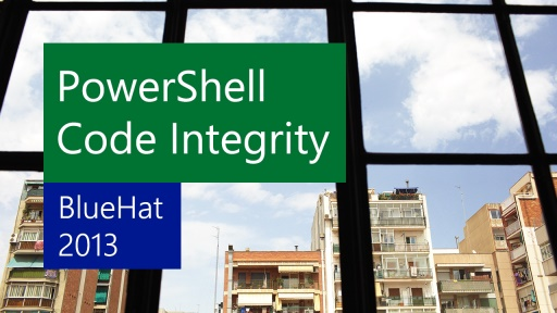 PowerShell Code Integrity