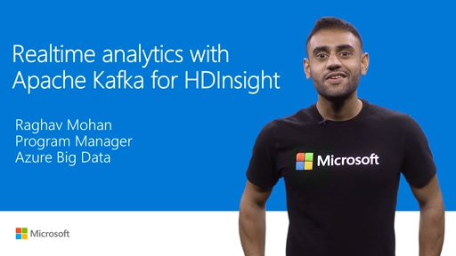 Real-time analytics with Apache Kafka for HDInsight