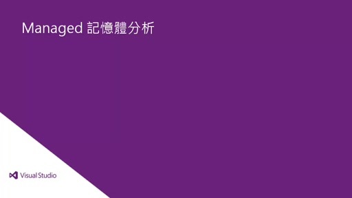Visual Studio 2013 Ultimate: Managed 記憶體分析