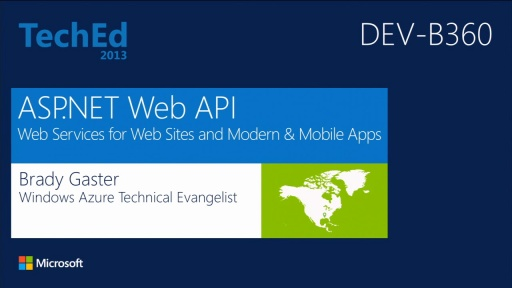 ASP.NET Web API: Web Services for Websites, Modern Apps, and Mobile Apps