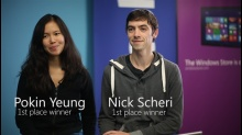 Facebook and Windows 8 Hackathon First Place Winners