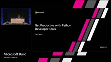 Get Productive with Python Developer Tools