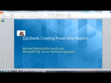 SQLShorts: SQL 2012 Power View on SharePoint 2010