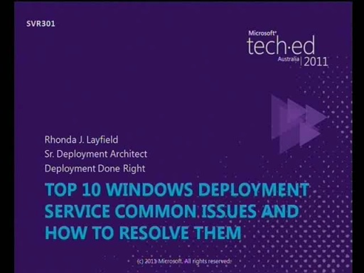 Top 10 Windows Deployment Service (WDS) Common Issues and