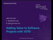 Adding Value to Software Projects with VSTO