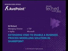 Extending Visio to enable a Business Process Modelling solution in SharePoint