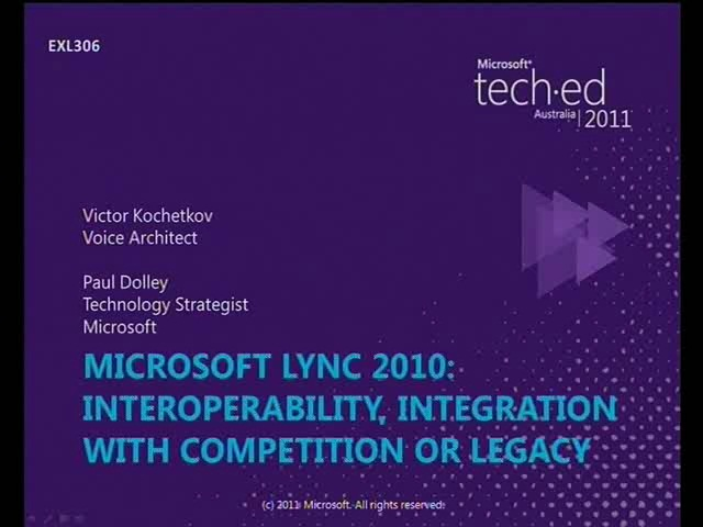 Interoperability, Integration with Legacy Systems