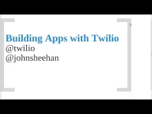 mvcConf 2 - John Sheehan: Intro to Building Twilio Apps with ASP.NET MVC