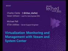 Virtualization Monitoring and Management with Veeam