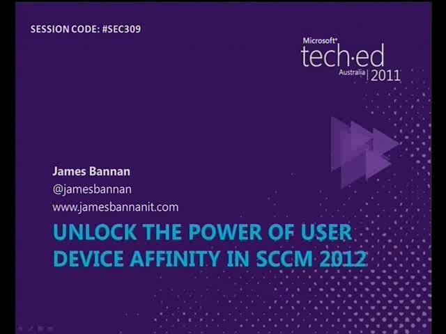 Unlock the power of User Device Affinity in SCCM 2012
