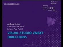 Visual Studio vNext Directions