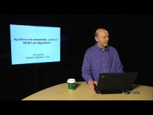C9 Lectures: Yuri Gurevich - Introduction to Algorithms and Computational Complexity, 2 of n