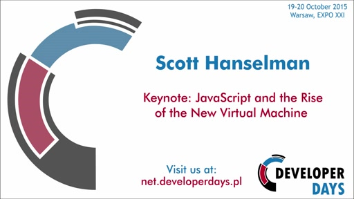Keynote: JavaScript and the Rise of the New Virtual Machine - Scott Haselman