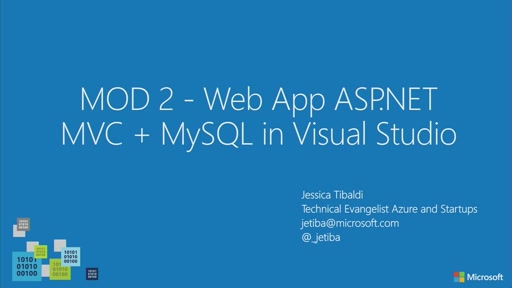 02 // Creare Web App con ASP.NET MVC + MySQL in Visual Studio