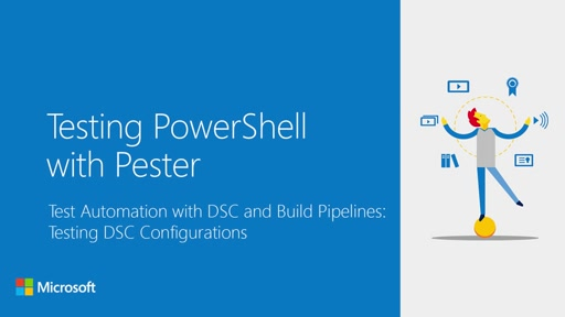 Test Automation with DSC and Build Pipelines