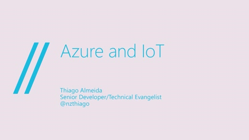 //build/London Session: Azure IoT