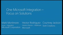 One Microsoft Integration – Focus on Solutions