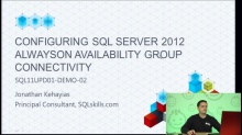 Demo: Configuring a SQL Server 2012 AlwaysOn Availability Group Listener