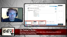 Microsoft DevRadio: Spring Azure Update Review - IaaS, Web Sites, Licensing and more!