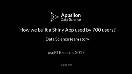 How we built a Shiny App for 700 users?