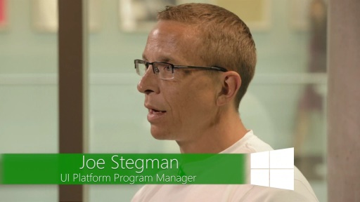 Windows 8.1: Interview with Joe Stegman