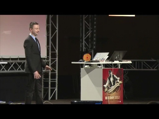 BigDay 2012 - IT in Transformation: BI and Productivity for Your Business Solutions