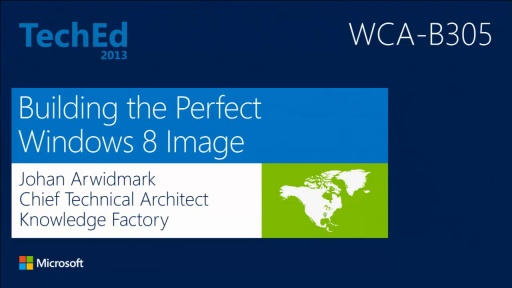 Building the Perfect Windows 8 Image
