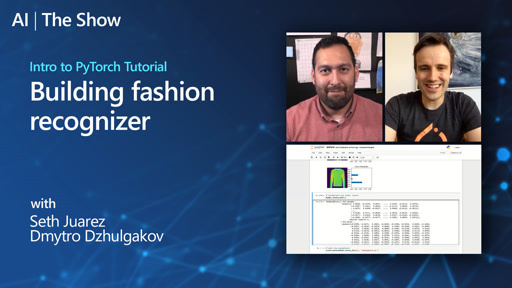 Intro to PyTorch Tutorial: Building fashion recognizer
