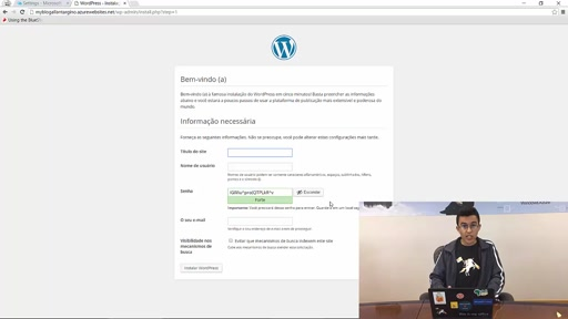 Criando seu blog com WordPress no Azure