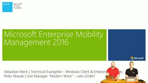 01 | Enterprise Mobility Management 2016: Was ist neu?