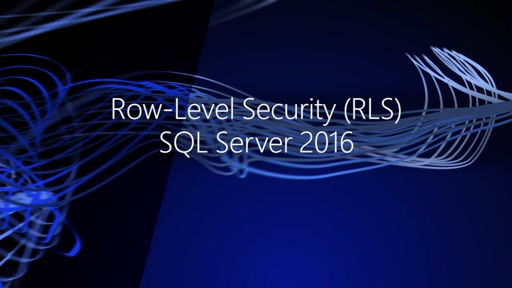 Row-Level Security (RLS) SQL Server 2016